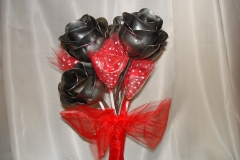 Steel Rose Valentine's Day Bouquet